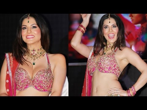 Sunny Leone-Tusshar Kapoor At The Launch Of 'Laila Teri' Song