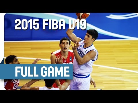 Italy v Tunisia - Group C - Full Game - 2015 FIBA U19 World Championship