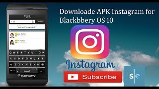 Download Instagram for Blackberry OS 10