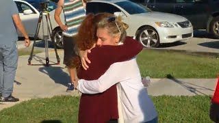 Families Hug Their Children in Tearful Reunions After Florida School Shooting