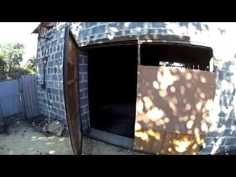 ворота +для гаража +своими руками видео