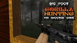 Big Foot Gorilla Hunting FPS Shooter Game
