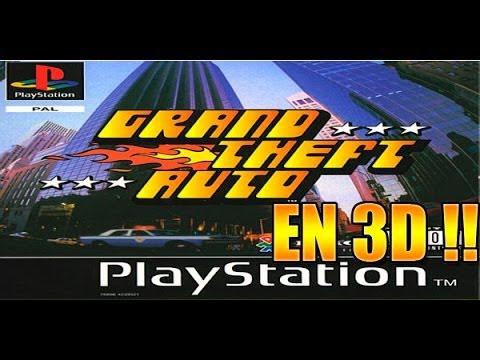 IMPRESIONANTE !!! El primer GTA , rediseñado en tres dimensiones !!!