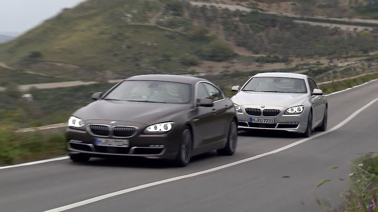 2013 bmw 640d and 640i gran coupe youtube