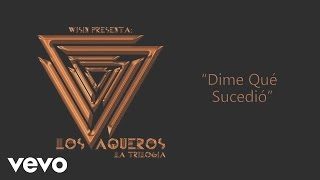 Wisin - Dime Qué Sucedió (Cover Audio) ft. Tony Dize