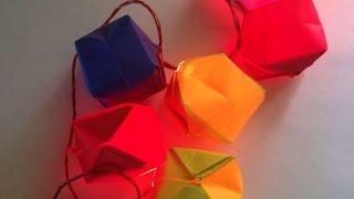 Haz Unos Preciosos Farolillos De Origami - Hazlo Tu Mismo Manualidades - Guidecentral