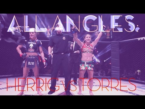 Invicta FC 7- ALL ANGLES: Felice Herrig vs Tecia Torres