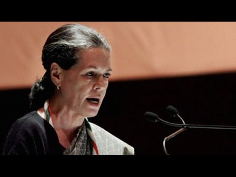 Sonia Gandhi's direct attack on Narendra Modi