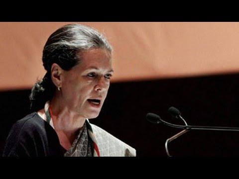 Sonia Gandhi's direct attack on Narendra Modi