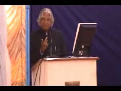 Apj Abdul Kalam Speech To Children About Leadership - Part 1 video