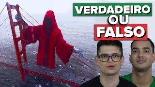 CRIATURA MISTERIOSA GRAVADA AO VIVO - VERDADEIRO OU FALSO??