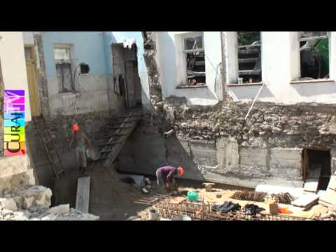 Șciusev 80, au rămas doar pereții din monument