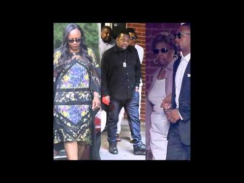 Whitney Houston's Daughter, Bobbi Kristina's Funeral - Aunt Leolah Removed  [VIDEOS & PICS]