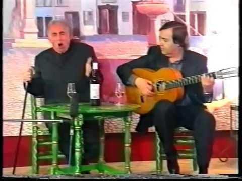 CURRO LUCENA ( Fandangos de Pérez de Guzmán y Rondeña ) Guit. Manolo Franco 1999