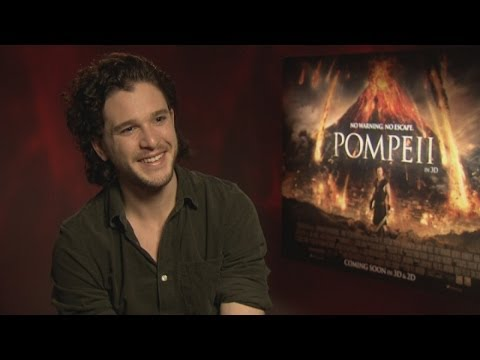 Kit Harington Interview: Abs, love and new film Pompeii