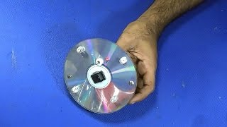How To Make A Super Bright LED Light On A DVD/ CD Disk