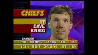 1992 NFL Raiders at Chiefs MNF