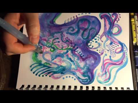 Watercolor Jewel-Toned Dream