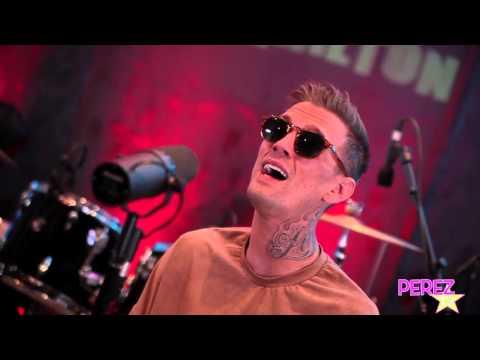 "Aaron Carter ""Fools Gold"" (Perez Hilton Exclusive Acoustic Performance!)"