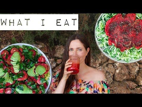 Только фрукты и овощи 💚Что я ем на сыроедении #18