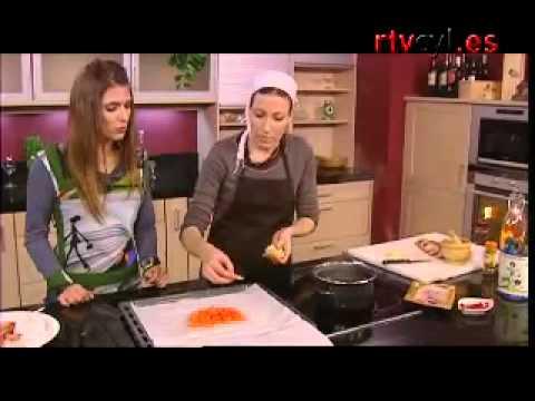 RECETA- Trucha rellena con jamón en papillote