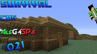 MINECRAFT | Survival con AleG4SPa #021 | ITA