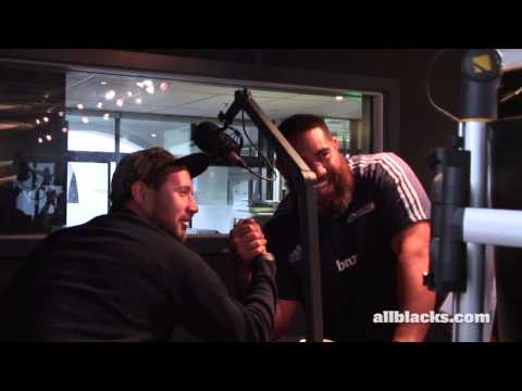 NZ Super Rugby players visit The Rock FM | Super Rugby Video Highlights - NZ Super Rugby players vis