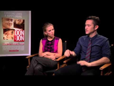 Joseph Gordon-Levitt And Scarlett Johnasson Interview -- Don Jon