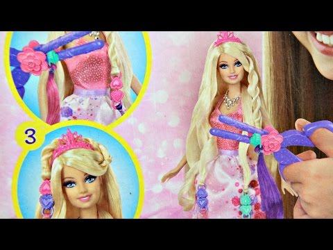 Barbie Cut N Style Princess Doll / Bajeczne Fryzury Księżniczki Barbie - Mattel - BCP41 - Recenzja
