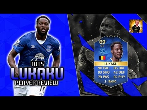 TOTS ROMELU LUKAKU (89) PLAYER REVIEW! | FIFA 16  PLAYER REVIEW
