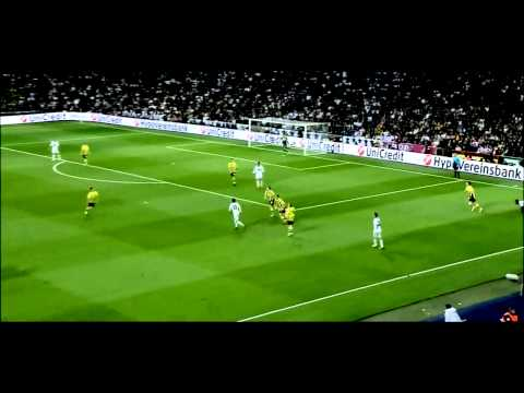 Ilkay Gündogan vs Real Madrid 1/2 CL - Season 2012/2013