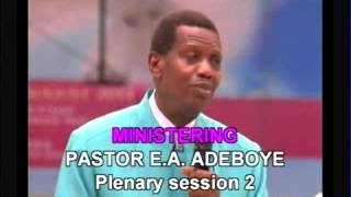 Living above the natural - Pastor E.A Adeboye