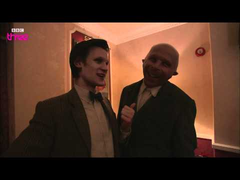 Matt Smith and Karen Gillan Interview David Walliams - Doctor Who Confidential - BBC Three
