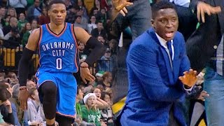 Westbrook Seals Game, Oladipo Approves!   12.23.16