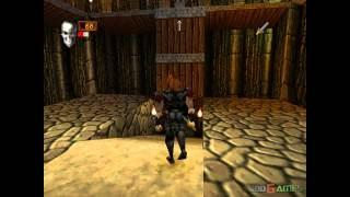 Deathtrap Dungeon - Gameplay PSX / PS1 / PS One / HD 720P (Epsxe)