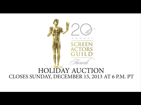 20th Annual Screen Actors Guild Awards® Holiday Auction