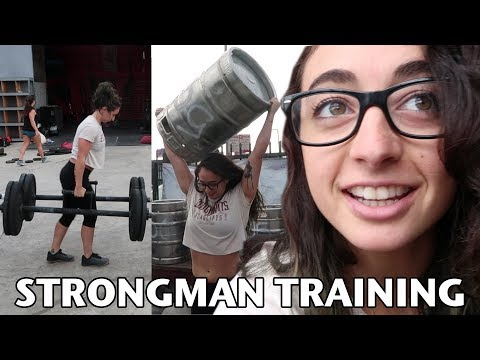 CrossFitters Try Strongman For The First Time!