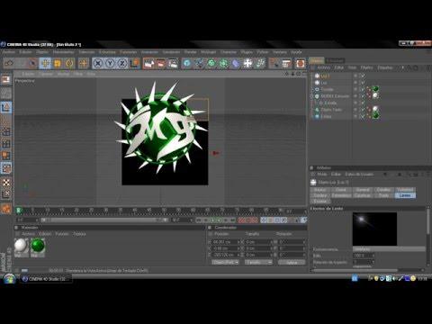 Como Crear un Logo Profesional [1er Tipo] en Cinema 4D (Facil)(Rapido)(Profesional)(Video Original)
