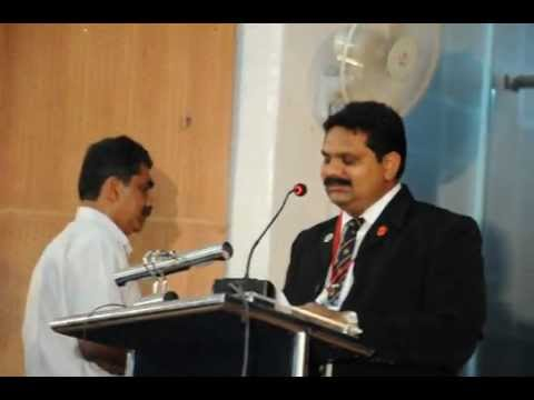 Sainik School Bijapur AAA Meet Dec 2012 Maj Gen KN Mirji Welcomed