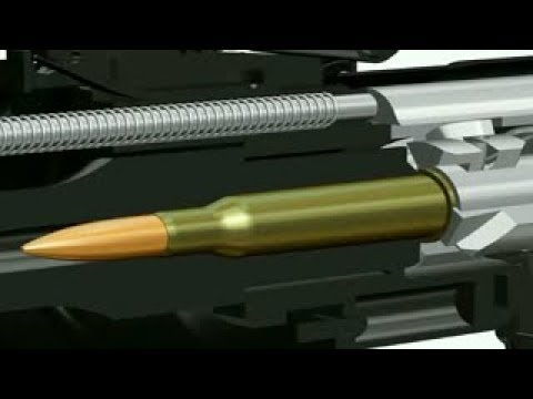 Keskin Nişancı Silahı Nasıl Çalışır? (SVD Dragunov)