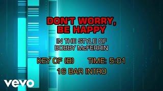 Bobby Mcferrin Don 39 T Worry Be Happy Karaoke