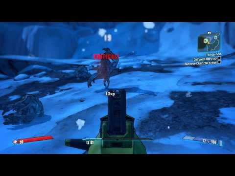 Borderlands 2 - Gameplay - 9600 GSO