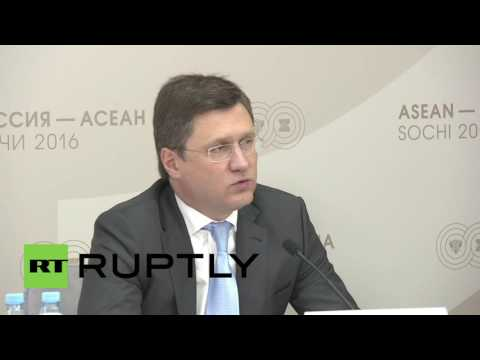 Russia: Energy Minister Novak hails cooperation with ASEAN countries