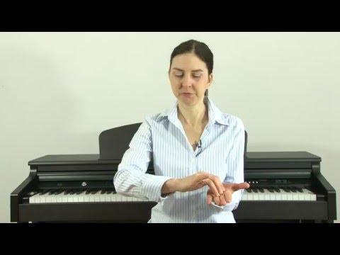 Kurs Gry Na Pianinie Z Nut Online - Lekcja 1 Z 13: Prawidłowa Praca Rąk Na Klawiaturze.