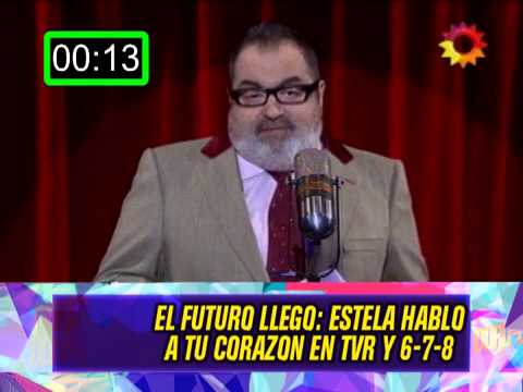 ESTELA DE CARLOTTO EN TVR Y 678 - 11-08-14