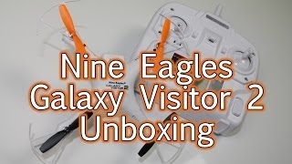 Nine Eagles Galaxy Visitor 2 unboxing