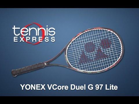 Yonex VCore Duel G 97 Lite Racquet Review | Tennis Express