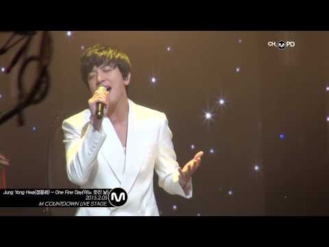 [MPD/직캠] 150205 Jung Yong Hwa(정용화) - One Fine Day(어느 멋진 날)