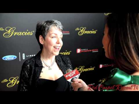 Ina Jaffe at the 2013 Gracie Awards #thegracies @InaJaffeNPR