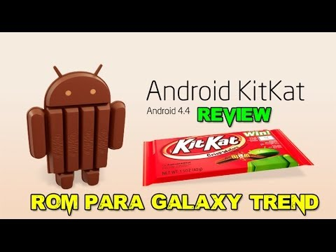 Review Rom KitKat 4.4.1. estable para Galaxy Trend GT-S7560M #LaVelaGames